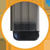 lamellen-dell-polycarbonaat-kristalbruin