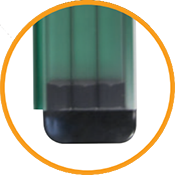 lamellen-dell-polycarbonaat-kristalgroen